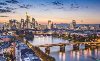 Where is Frankfurt, Germany?