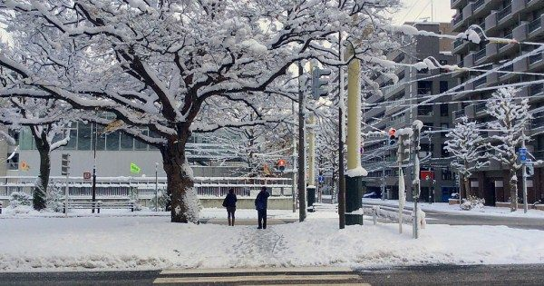 Sapporo during Winter